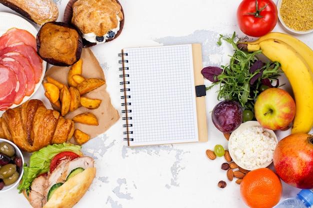 5:2断食ダイエットの概念 Premium写真