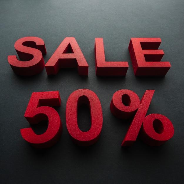 50%割引のクローズアップでの販売 無料写真