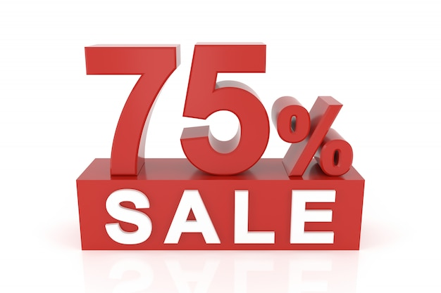 75%のセール Premium写真