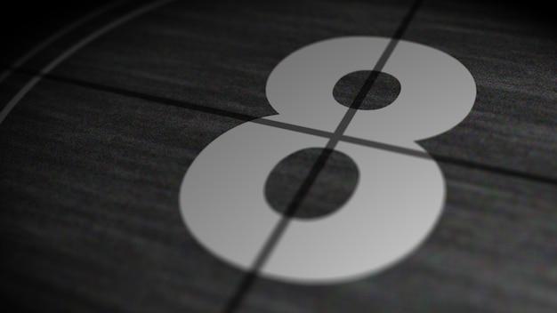 ビンテージフィルムカウントダウン8 Premium写真