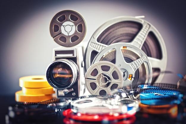 8mm film movie Premium Photo
