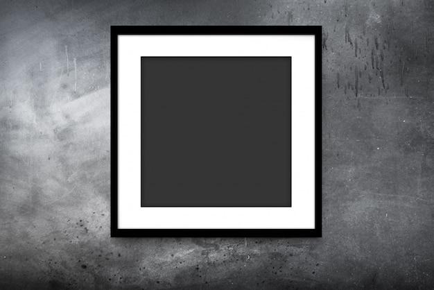 黒のモダンなフレーム Premium写真