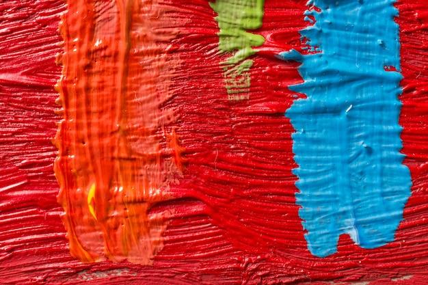 Абстрактная живопись фон. обои для выставки художников или фабрики красок Premium Фотографии