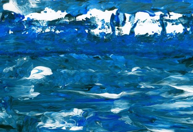 抽象芸術。創造的な手描きの背景、壁紙、テクスチャ。 Premium写真