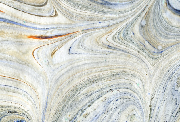 抽象的な混沌とした油絵テクスチャ背景 Premium写真