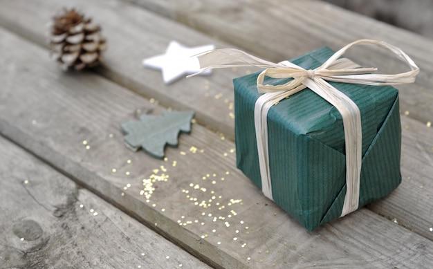 小さなクリスマスプレゼント Premium写真