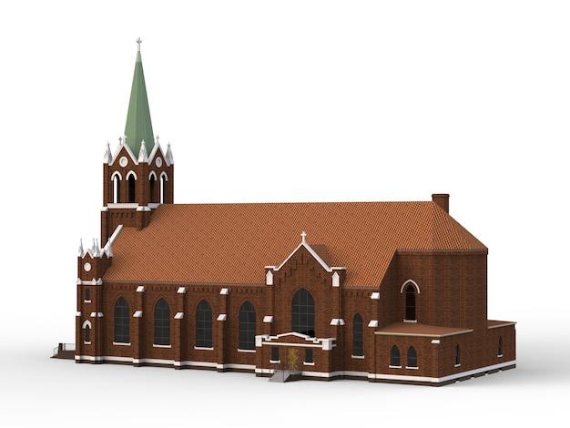 カトリック教会の建物 Premium写真