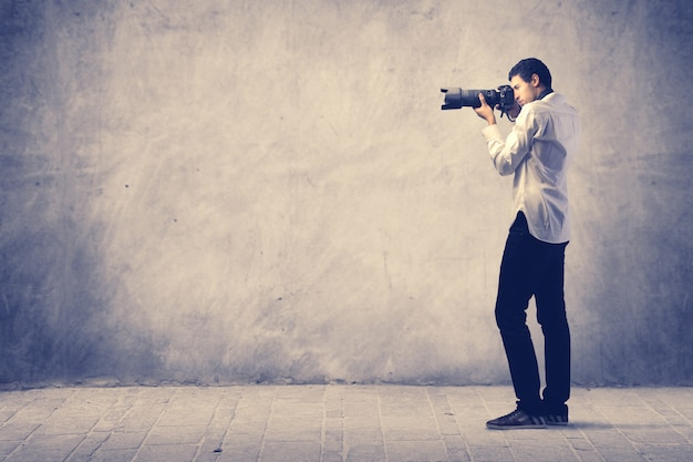 写真の男 Premium写真