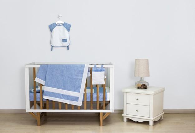 Детское оборудование в спальне Premium Фотографии