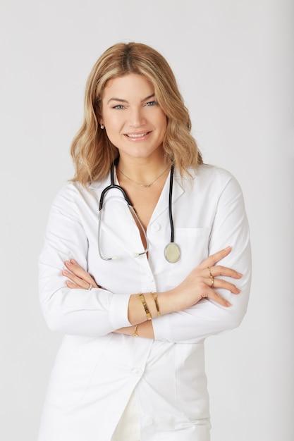 美しい女性医師 Premium写真