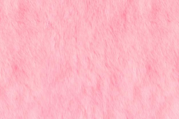 ピンクの毛皮のような毛皮の質感。動物の柔らかい風合い Premium写真