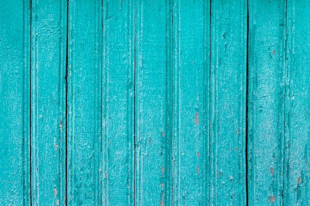 青い木の板グランジ背景 Premium写真