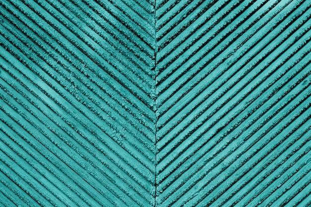 木の板にひびの入った青い絵の具の古いビンテージテクスチャ。古い青いペンキテクスチャクローズアップ Premium写真