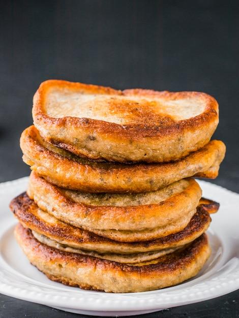 チアシードのパンケーキ Premium写真
