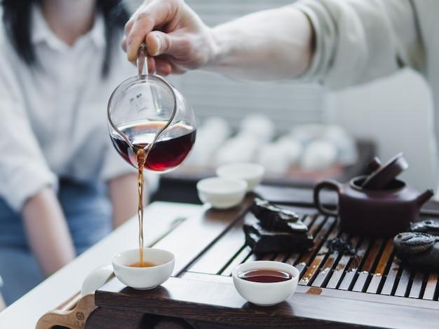 中国の茶茶道 Premium写真