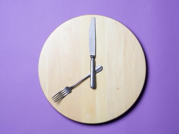 断続的な断食と朝食の概念をスキップ Premium写真