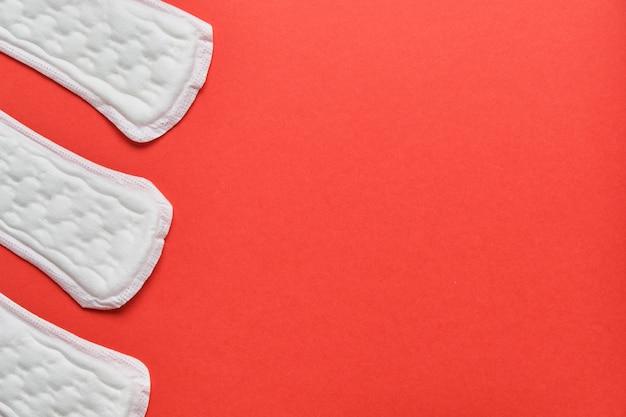 上面図付き赤パッド Premium写真