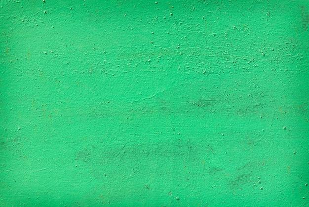 緑の古い塗装金属 Premium写真
