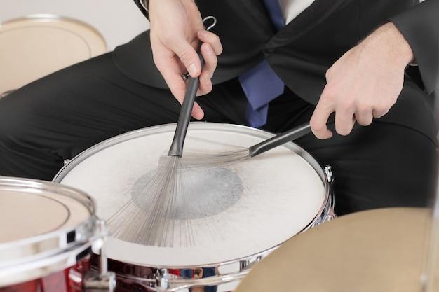 Альтернативные барабанные палочки Premium Фотографии