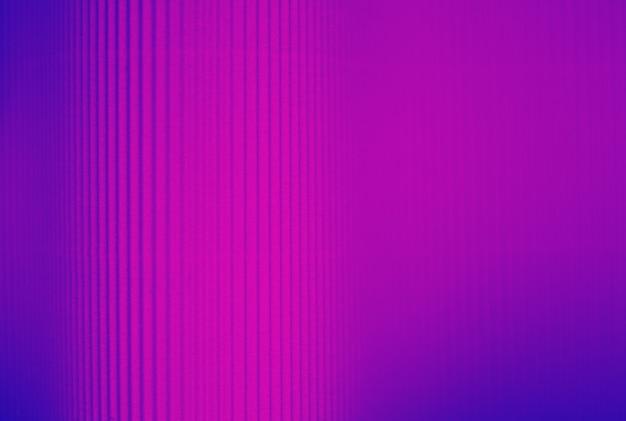 紙製のネオンパープルとブルーのストライプの背景 Premium写真