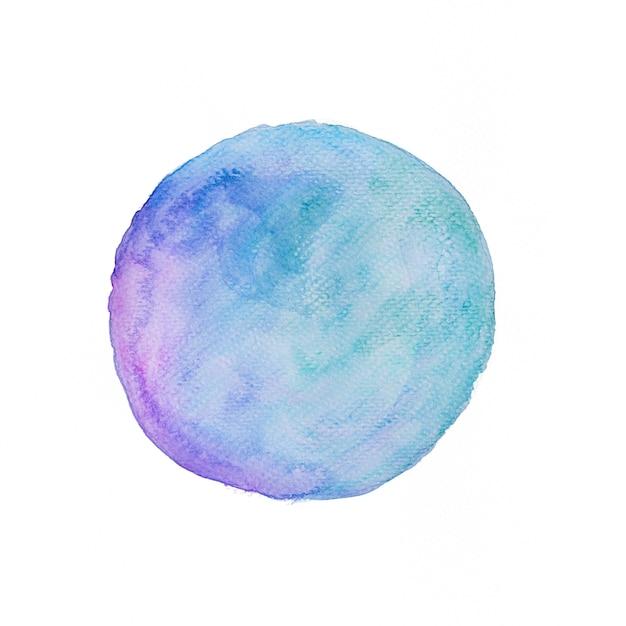 水彩画の背景銀河の色調 無料写真