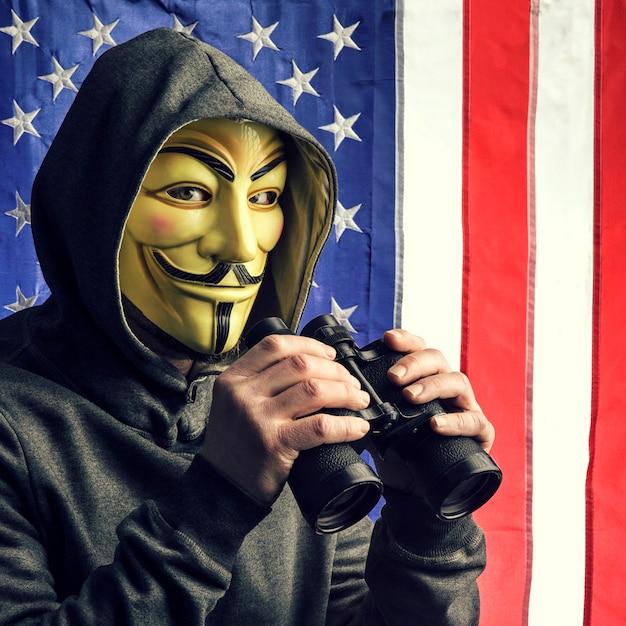 ハッカーが私たちをスパイ Premium写真