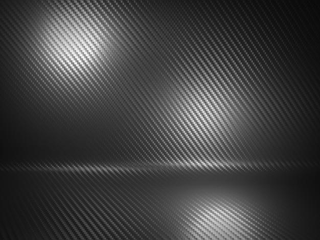 Фон из углеродного волокна Premium Фотографии
