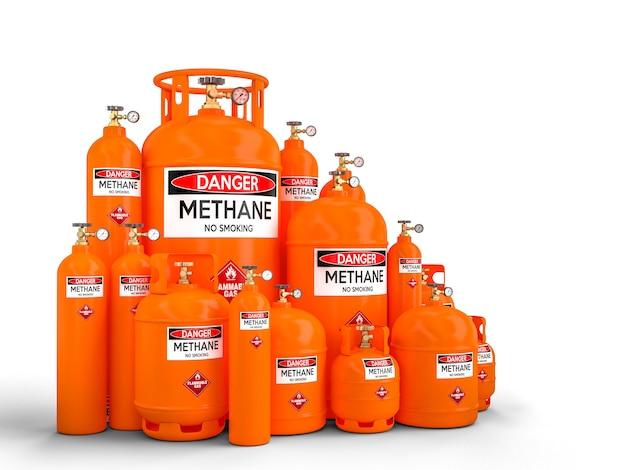 Метановый баллон Premium Фотографии