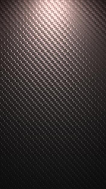 炭素繊維の背景 Premium写真