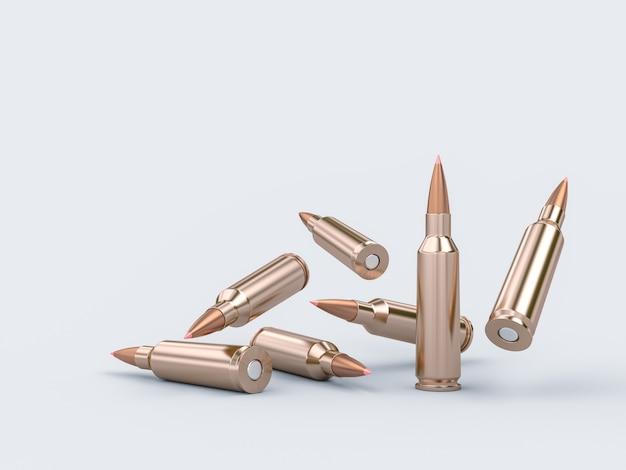 ライフルの弾丸 Premium写真