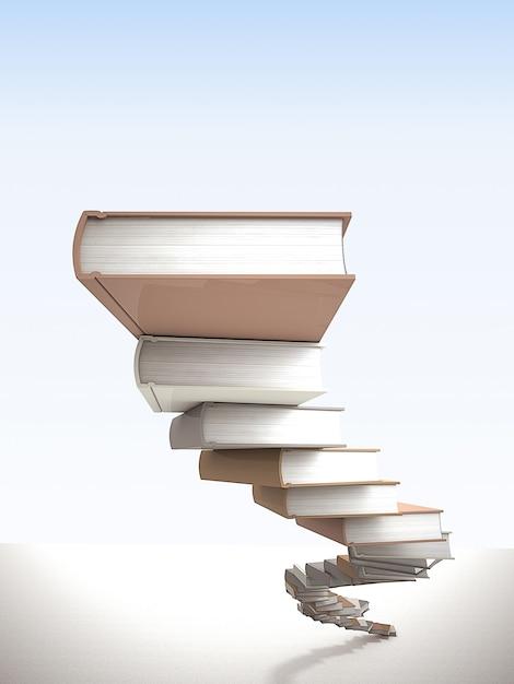 知恵の階段 Premium写真