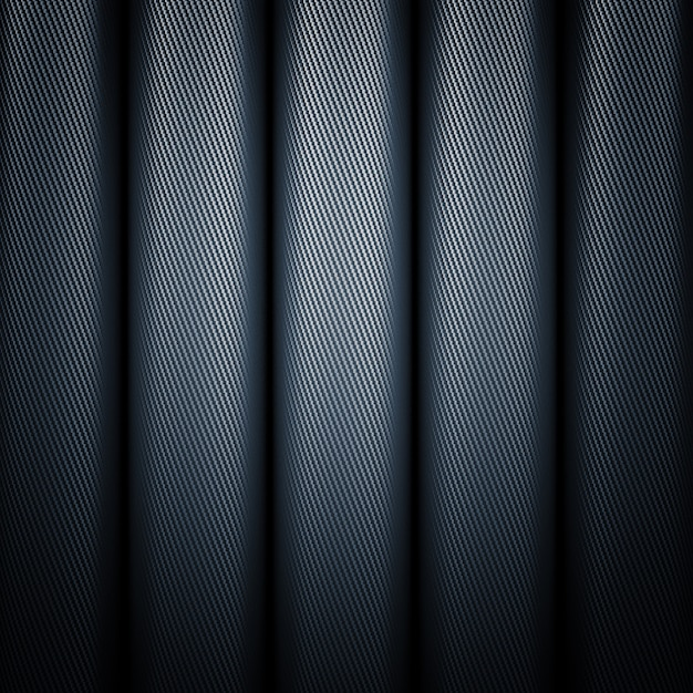 Углеродные трубы Premium Фотографии