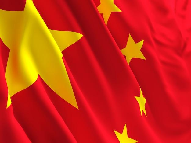 中国の旗 Premium写真