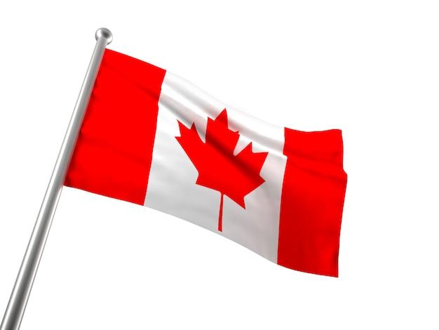 カナダの旗 Premium写真