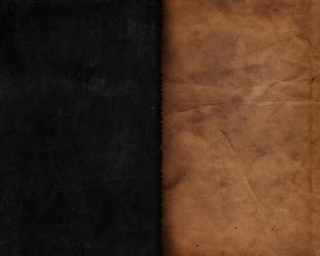 古い紙とグランジスタイル黒板テクスチャ 無料写真