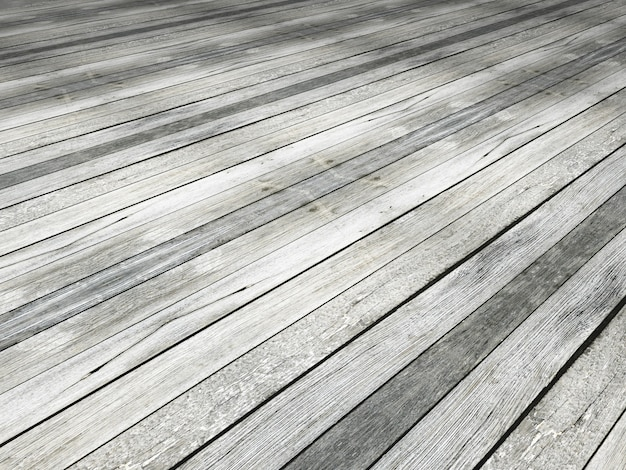 グランジ木製の床板のテクスチャ背景 無料写真