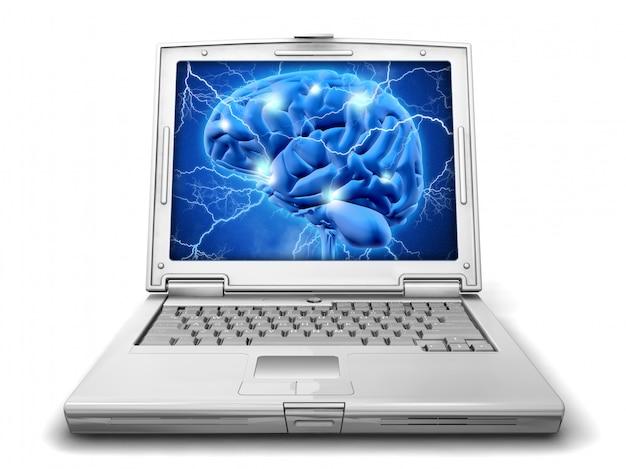 分離されたアルツハイマー病の研究コンセプト 無料写真