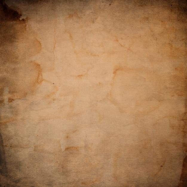Гранж фон бумаги. старая винтажная текстура Бесплатные Фотографии