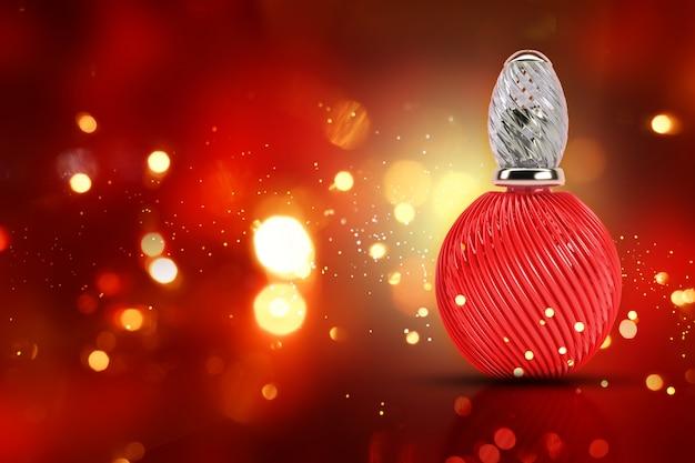 レッド香水瓶 無料写真