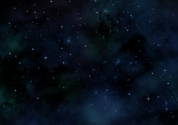 星空のデザイン 無料写真