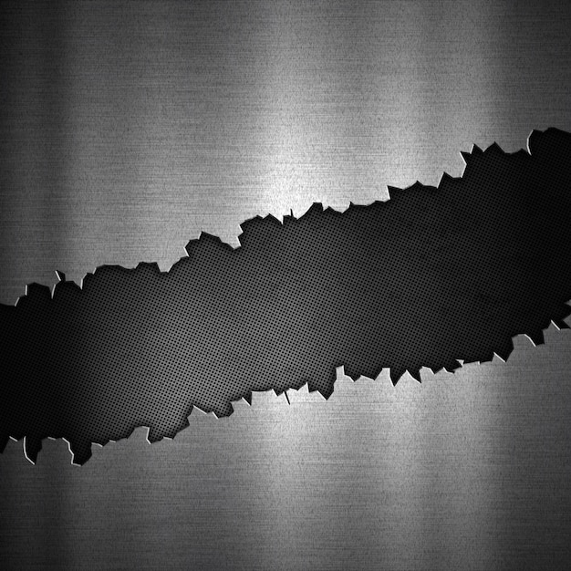 クラックされた金属デザインの抽象的な背景 無料写真