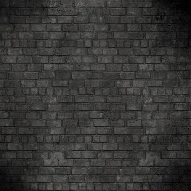 グランジのレンガの壁の背景 無料写真