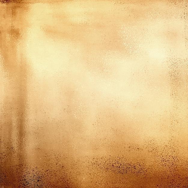 抽象的な金色の金属質感 無料写真