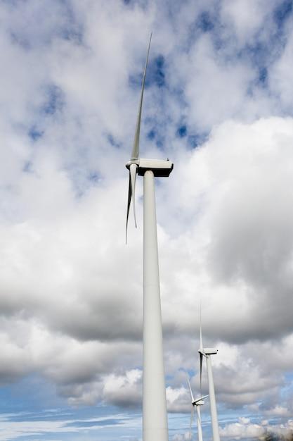 風力エネルギー Premium写真
