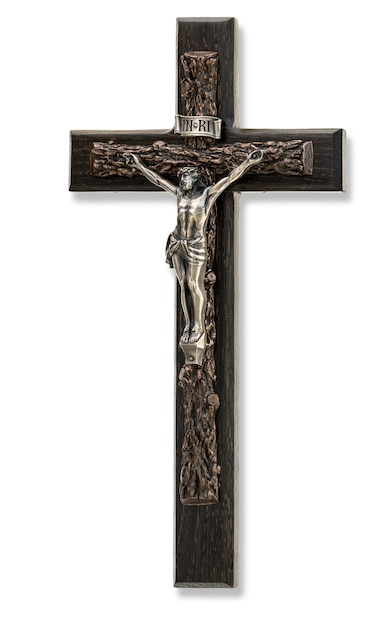 イエスの姿の十字架 Premium写真