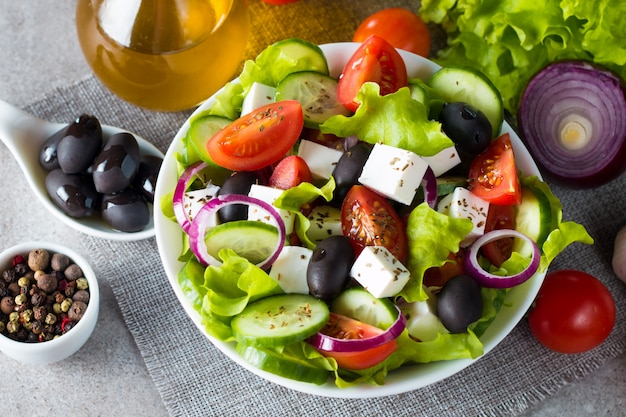 ギリシャサラダ Premium写真