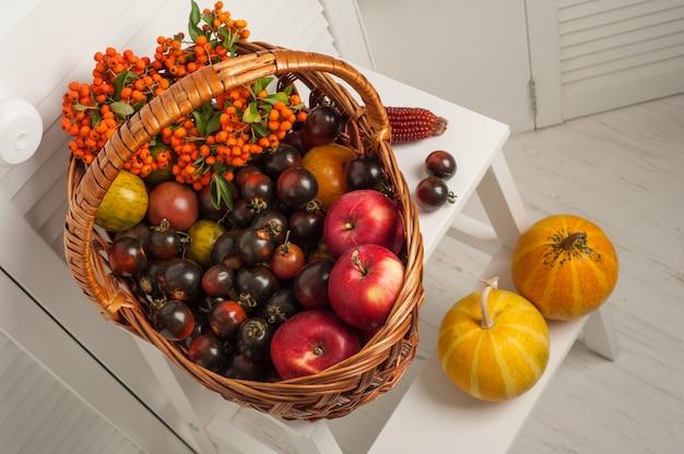 果物と野菜の感謝祭セット Premium写真