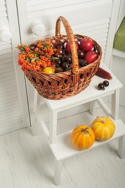 果物や野菜の感謝祭セット Premium写真