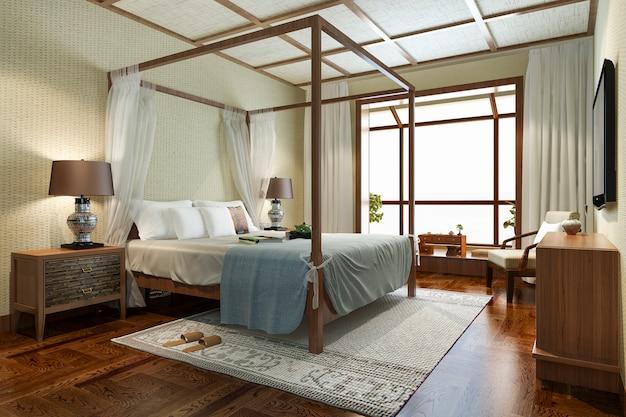 リゾートホテルとリゾートのトロピカルベッドルームスイート Premium写真
