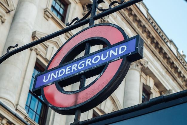 Лондонское метро Premium Фотографии